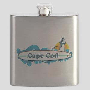 Cape Cod- Surf Design. Flask