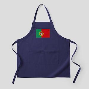 Portuguese flag Apron (dark)