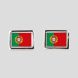 Portuguese flag Rectangular Cufflinks