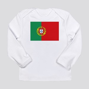 Portuguese flag Long Sleeve Infant T-Shirt