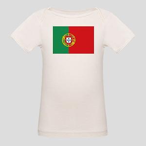 Portuguese flag Organic Baby T-Shirt