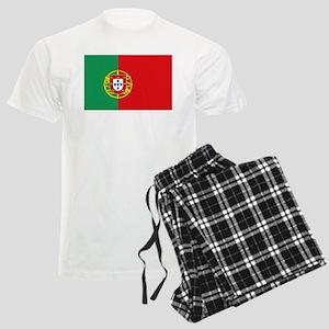 Portuguese flag Men's Light Pajamas