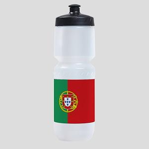 Portuguese flag Sports Bottle