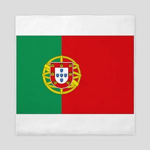 Portuguese flag Queen Duvet