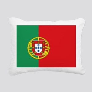 Portuguese flag Rectangular Canvas Pillow