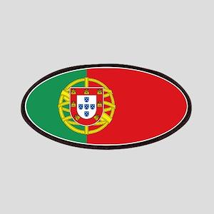 Portuguese flag Patches