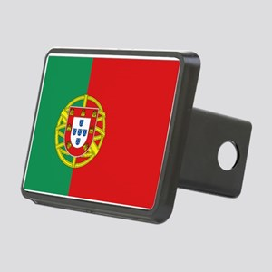 Portuguese flag Rectangular Hitch Cover