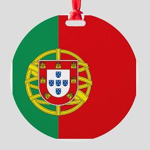 Portuguese flag Round Ornament