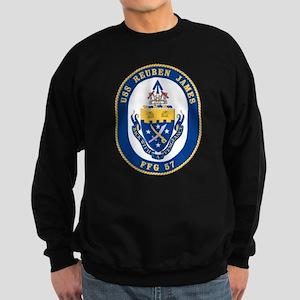 USS Reuben James FFG-57 Sweatshirt (dark)