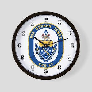USS Reuben James FFG-57 Wall Clock