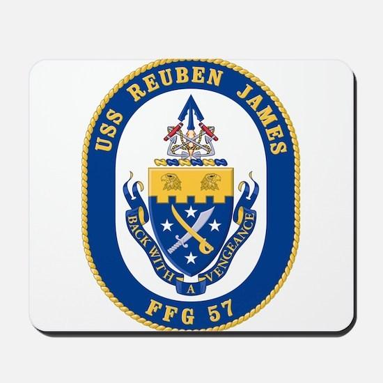 USS Reuben James FFG-57 Mousepad