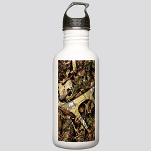 camouflage deer antler Stainless Water Bottle 1.0L