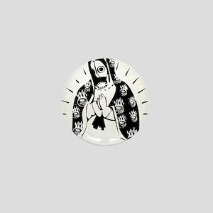 Virgin Mary Mini Button