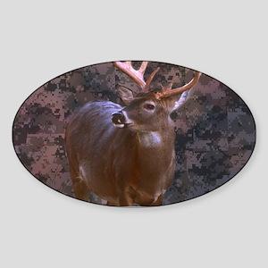 camouflage deer outdoor dec Sticker