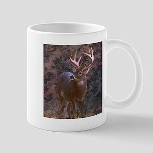 camouflage deer Mugs
