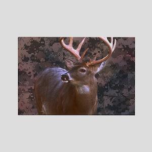 camouflage deer outdoor decor Magnets