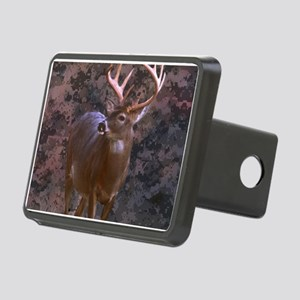 camouflage deer Rectangular Hitch Cover
