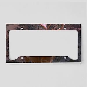 camouflage deer License Plate Holder