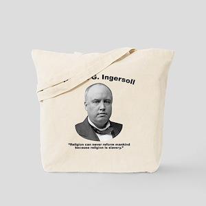 Ingersoll: Slavery Tote Bag