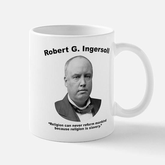 Ingersoll: Slavery Mug