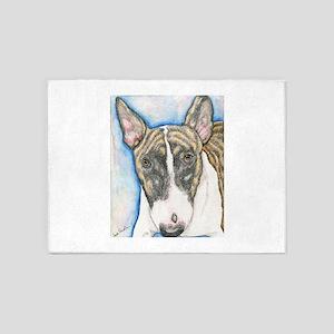 English Bull Terrier 5'x7'Area Rug