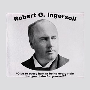 Ingersoll: Rights Throw Blanket