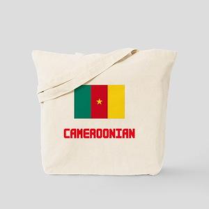 Cameroonian Flag Design Tote Bag
