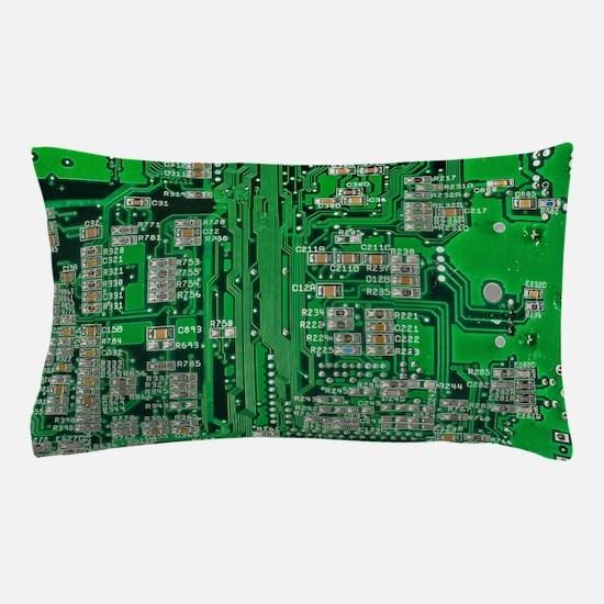Circuit Board Pillow Case