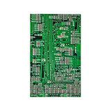 Computer tech 3x5 Rugs