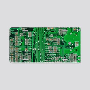 Circuit Board Aluminum License Plate