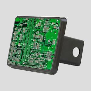 Circuit Board Rectangular Hitch Cover