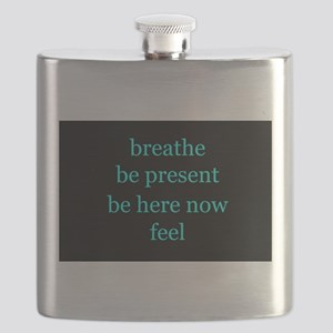 Breathe Be Here Now 001 Flask