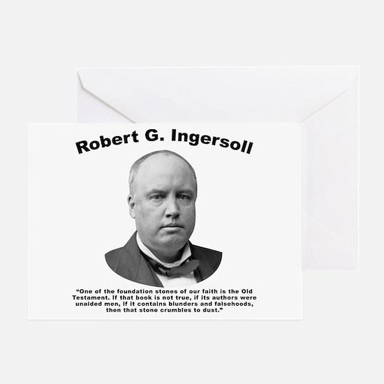 Ingersoll: OldTest Greeting Card