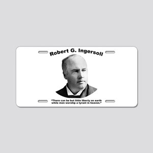Ingersoll: Liberty Aluminum License Plate