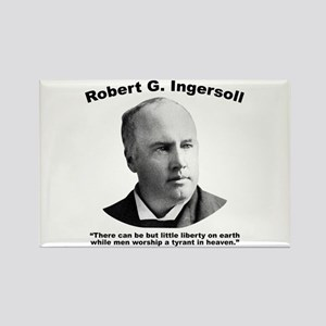 Ingersoll: Liberty Rectangle Magnet