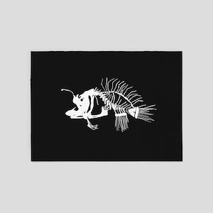 Angler Fish 5'x7'Area Rug