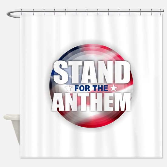 Stand for the Anthem Shower Curtain