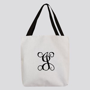 J Polyester Tote Bag