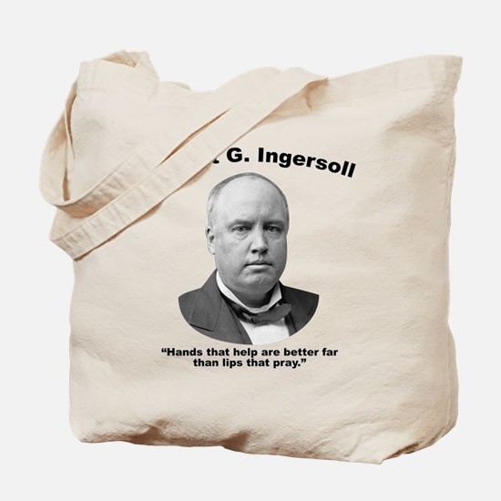Ingersoll: Hands Tote Bag