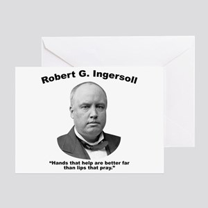 Ingersoll: Hands Greeting Card