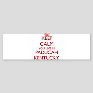 Keep calm you live in Paducah Kentu Bumper Sticker