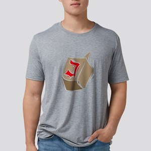 100%jewcy pink copy Mens Tri-blend T-Shirt