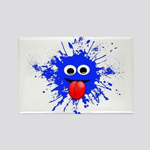 Blue Splat Dude Magnets