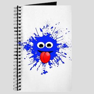 Blue Splat Dude Journal
