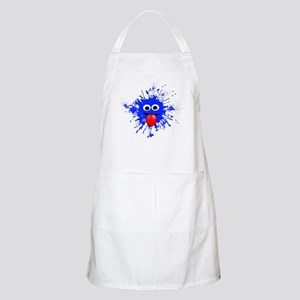 Blue Splat Dude Apron