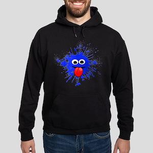 Blue Splat Dude Hoodie