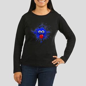 Blue Splat Dude Long Sleeve T-Shirt