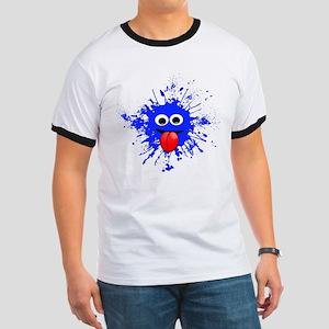 Blue Splat Dude T-Shirt