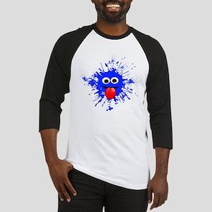 Blue Splat Dude Baseball Jersey