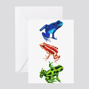 Kermit the frog greeting cards cafepress dart frogs greeting cards m4hsunfo